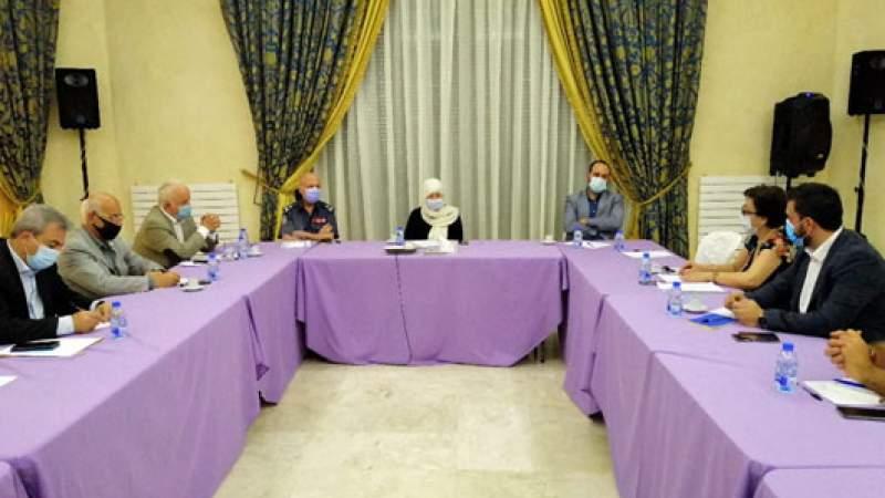 اجتماع تنسيقي لمتابعة مستجدات تفشي فيروس كورونا في صيدا