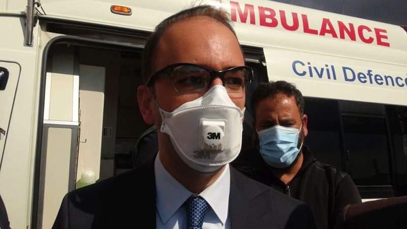 المحافظ بشير خضر أطلق حملة لزيادة نسبة المتلقحين في بعلبك الهرمل