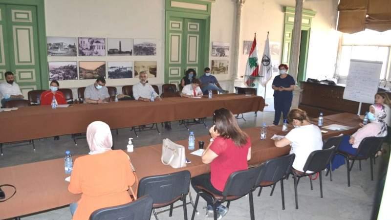 لقاء تنسيقي بين بلدية طرابلس واليونيسف وجمعيات لإطلاق حملة توعية على اللقاح والتسجيل على المنصة