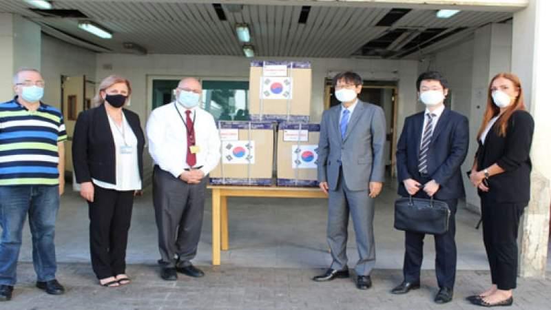 دعم كوري لمستشفى الحريري وتبرعات للمساعدة في معالجة تفشي الوباء
