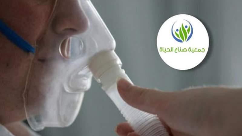 برقايل تتسلم  أجهزة تنفس اصطناعي وقوارير أوكسجين