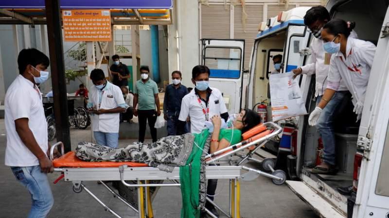 مسؤول حكومي: وفاة 22 مريضاً بكورونا في مستشفى بالهند بسبب نفاذ الأكسجين