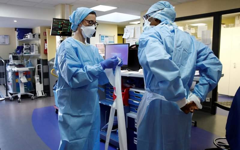 استمرار ارتفاع حصيلة مرضى كورونا في المستشفيات في فرنسا
