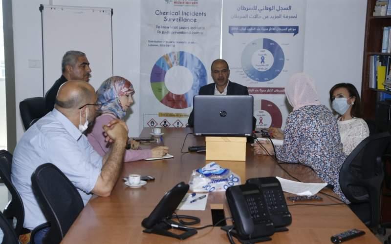 حسن ترأس اجتماع اللجنة العلمية في وزارة الصحة