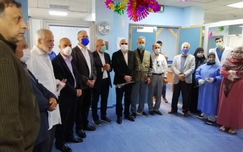 بلوق زار مستشفى بعلبك الحكومي مهنئاً بيوم الممرضة العالمي