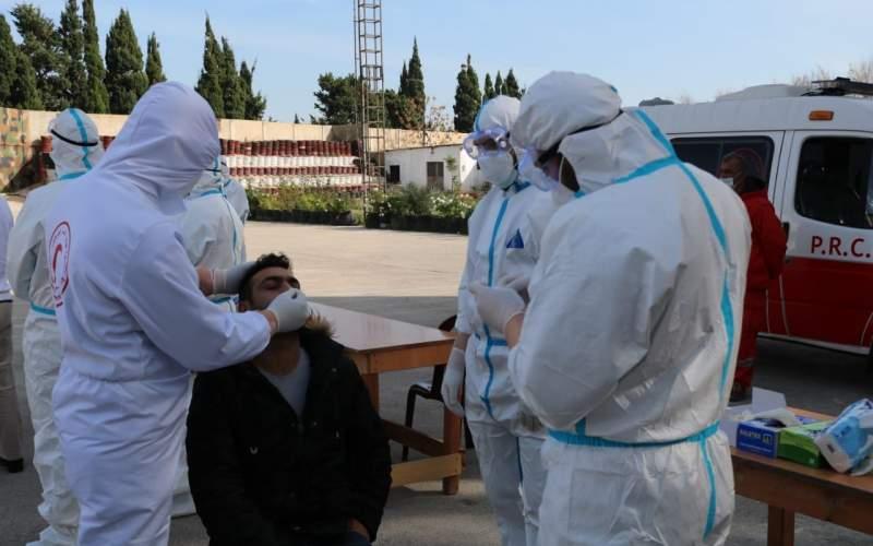 فريق الكورونا في مستشفى الهمشري أجرى فحوصات PCR في مخيمات صور