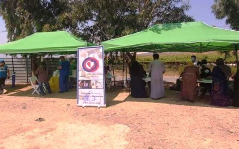 اطلاق أول حملة تلقيح ضد فيروس كورونا في مخيمات النازحين السوريين في لبنان