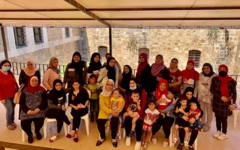 ورشة توعوية حول كورونا للنساء في مركز مدى التابع لمؤسسة معروف سعد