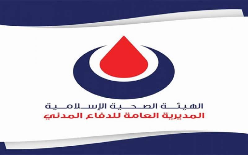 الدفاع المدني في الهيئة الصحية الإسلامية نفذ 615 مهمة بخلال 24 ساعة
