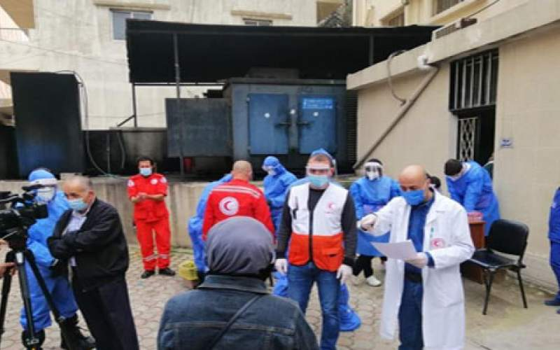 مستشفى الهمشري أجرى 200 فحص PCR في مخيمي البداوي ونهر البارد
