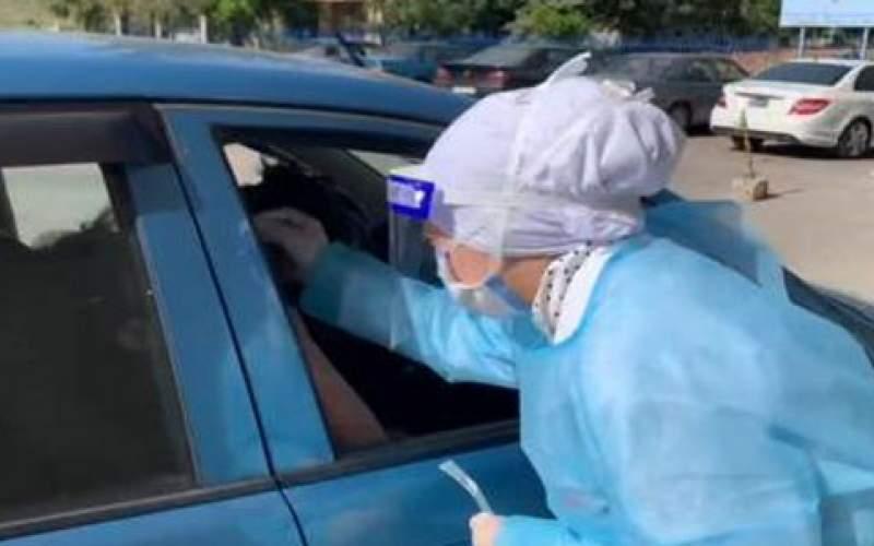 فحوصات PCR في مستشفى سيدة السلام في القبيات