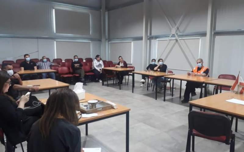 دورة في بلدية القاع بالتعاون مع الصليب الاحمر ضمن خطة الاستجابة لمكافحة الوباء